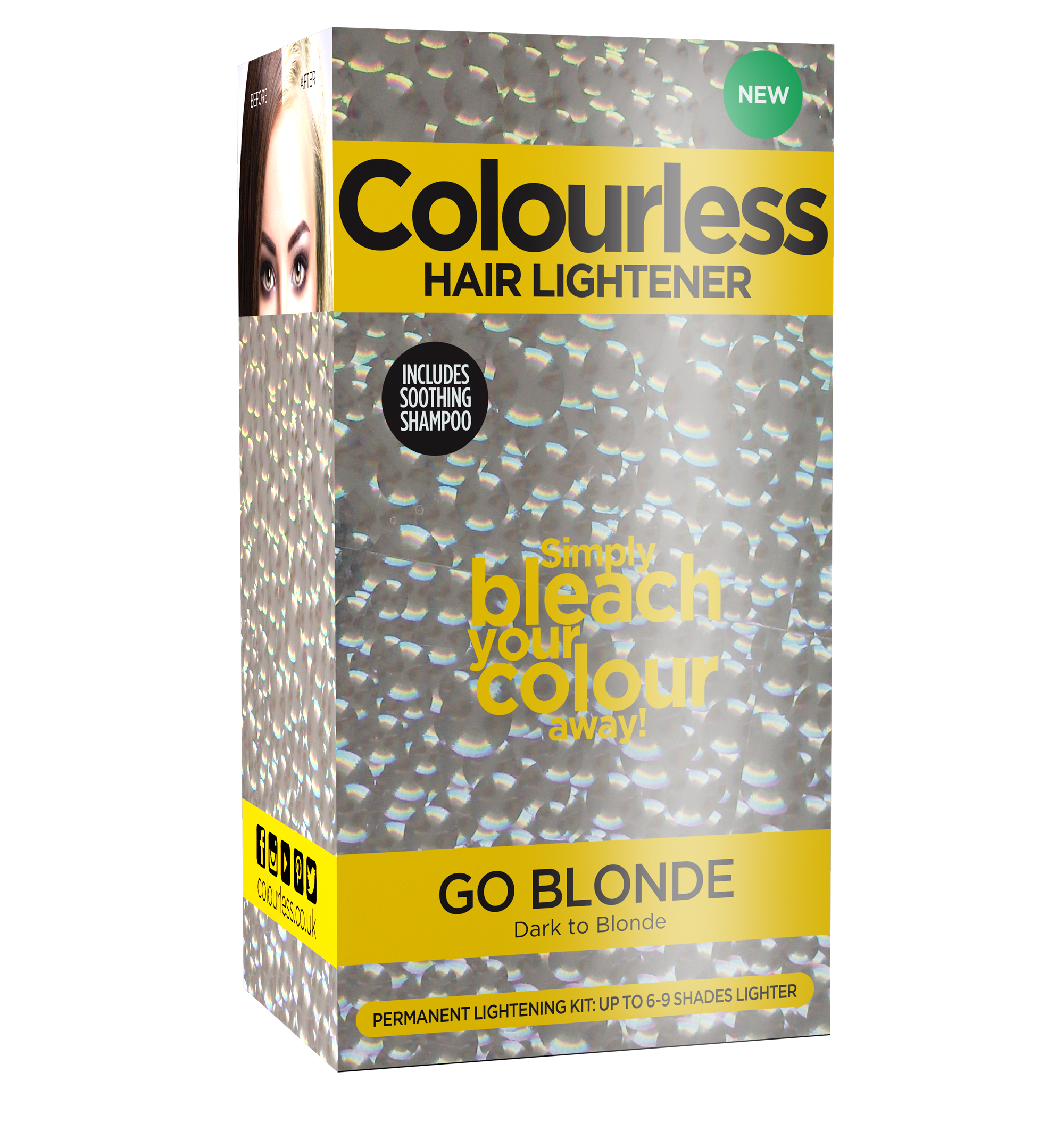 Colourless Go Blonde