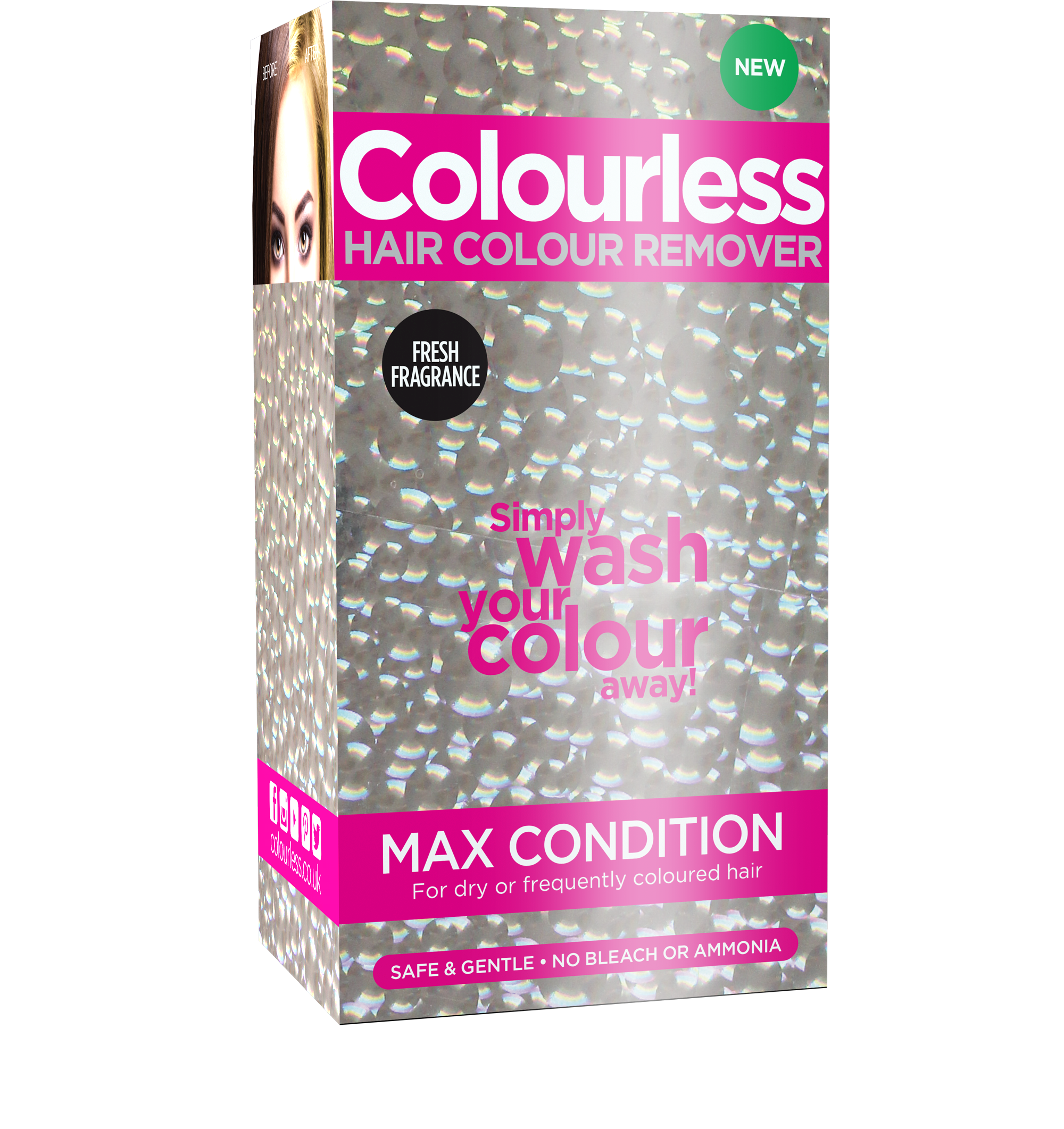 Colourless hair colour remover max conditioning colourless max condition solutioingenieria Gallery
